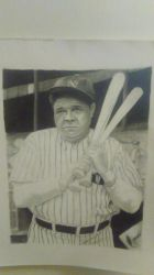 Babe Ruth drawing realistic Kimg0785 by cdudley25