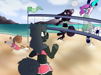 Chimereon Volleyball! by SpindleSpice