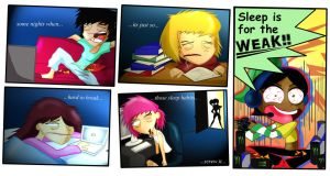Chips n Grapes- Bad Sleeping Habits by xeternalflamebryx