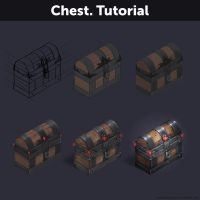 Chest. Tutorial by Anastasia-berry