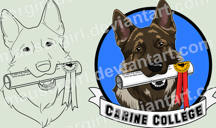 Commission - Canine College by MauserGirl