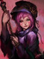 iPad finger painting- The Witch's Tears by ptcrow