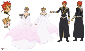 Gift Commission: Wedding Attire by red-winged-angel