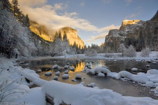 Yosemite Winter 2009 21 by ECaputo