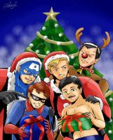 the Invaders: Happy Holidays! by athena-i