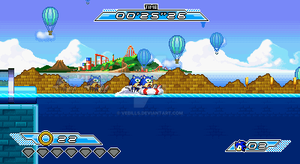 Sonic Action - Screenshot 3 by Vebills