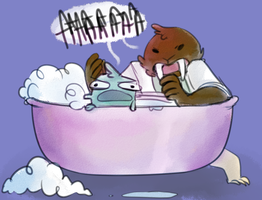 Bathtime 2 by TigerPhantom