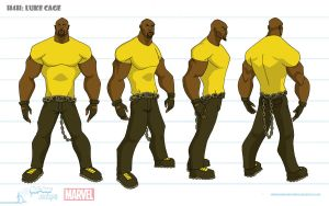 Luke Cage Turnaround by artofjared