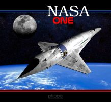 NASA ONE by Ptrope