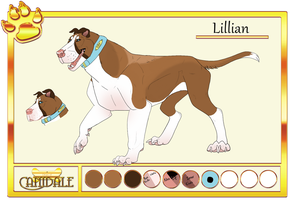 DoC|Lillian|Pet by drawingquirky