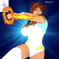 Starflame cover iray by TheCometRay