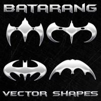New Batman Vector Shapes by Retoucher07030