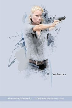 Laurie Holden as Andrea by eyeqandy