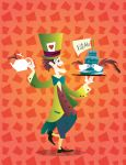 Mad Hatter becomes magic by Coolgraphic