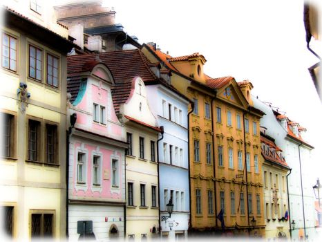 Rustical houses by 4ir4o
