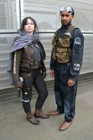 Jen Erso and Bodhi Rook (1) by masimage