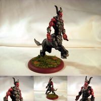 Table-Top Miniature: Lord Tirek by NPCtendo