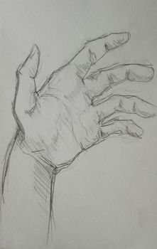 Hand sketch by Maakowiec