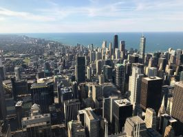 Chicago Skyline  by ofajardo81