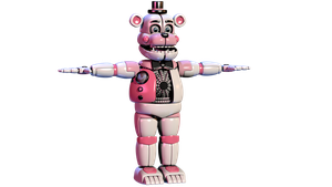 Funtime Freddy V4 Wip 4 by Bantranic