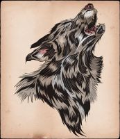 WOLF by MY-METAL-HAND