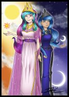 The Sun and The Moon by Imotep92