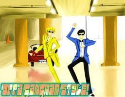 Ouran Gangnam Style by UbiquitousCreator