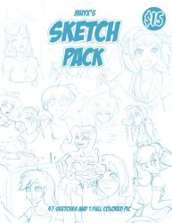 Sketch pack (ABDL) by Muy-x