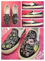 MCR shoes by Bobsmade