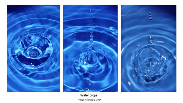 Water drops - exprimental by Fuadass