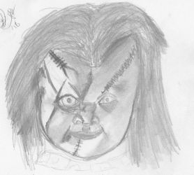 Chucky Speed Drawing by SmallzTV