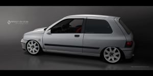 renault clio 1.8 16v by RibaDesign