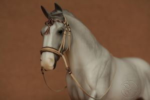 Bitless Bridle traditional size (1:9) by PegasusCreations