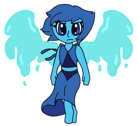 Angry Lapis by para-keet-normal