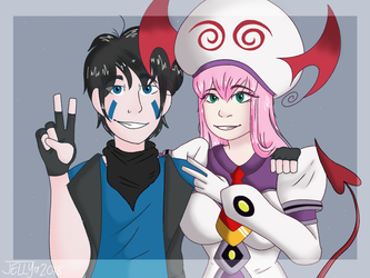 Yukki and Lala by Dead-Derpyson-Hooves