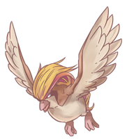 Pigeot | Pidgeot Commission by AutobotTesla