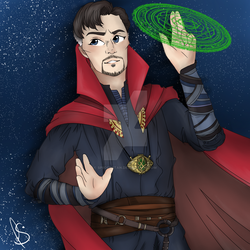 Doctor Strange by lendmeyourbones