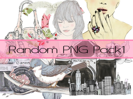 Random PNG Pack1 by silklungs