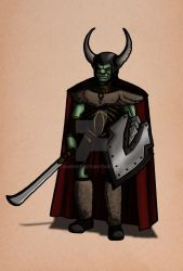 #28 Orctober by Narnise