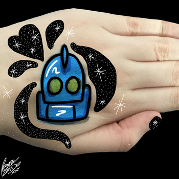 Hand Doodle by RaynaOfTheDead