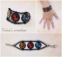 The Hunger Games Mockingjay Bracelet by Taisa-Winged