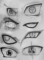 Naruto Eyes. by Fanglesscobra