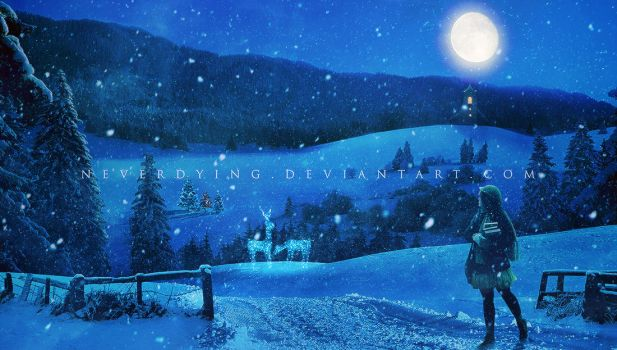 Christmas Night by neverdying