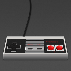 Nintendo 8-bit Controller by MrAronsson