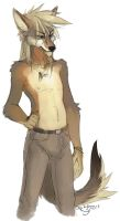 coyote by Orphen-Sirius