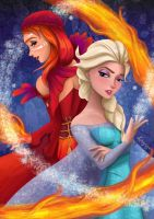 Fire and Ice by Kalypsya