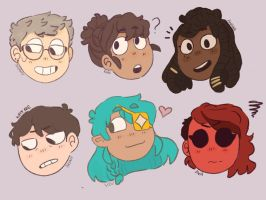 OCs  by LittleEchoArtist