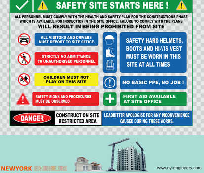 Construction Site Safety by newyorkengineers