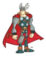 The Mighty Thor by tyrannus