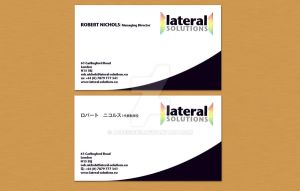 Lateral Solutions Biz Card by a2designs